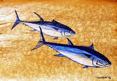Blue Fin Tuna Poster by Scott D Van Osdol