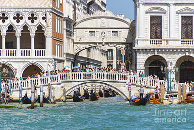 Bridge Of Sighs Poster by Svetlana Sewell