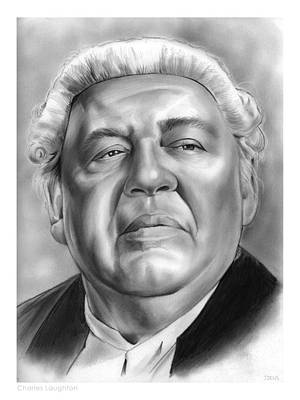 Charles Laughton Poster by Greg Joens