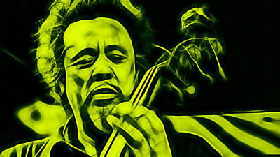 Charles Mingus Collection Poster by Marvin Blaine