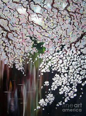 Cherry Blossom Poster by Irina Davis