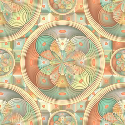 Complex Geometric Pattern Poster by Gaspar Avila