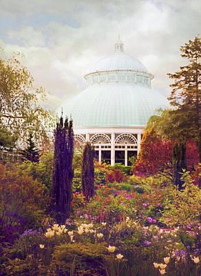Conservatory Gardens Poster by Jessica Jenney