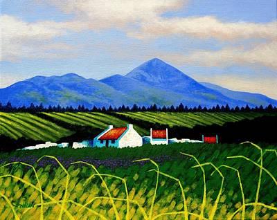 Croagh Patrick County Mayo Poster by John  Nolan