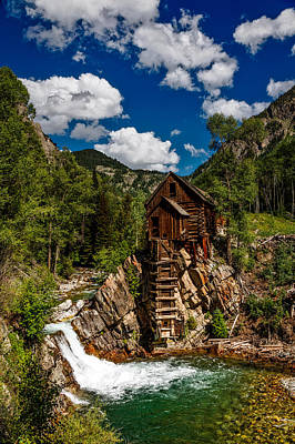 Crystal Mill Poster by Mountain Dreams