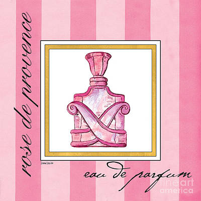 Eau De Parfum Poster by Debbie DeWitt