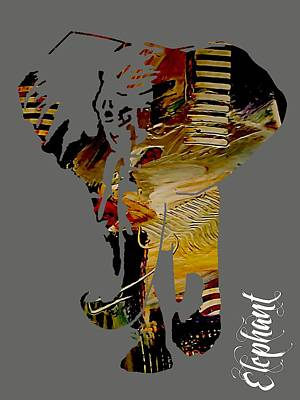 Elephant Collection Poster by Marvin Blaine