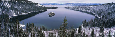Emerald Bay Lake Tahoe Ca Poster by Panoramic Images