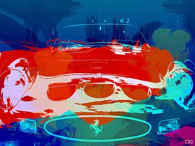 Ferrari Gto Poster by Naxart Studio