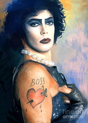 Frank N. Furter Poster by Dori Hartley