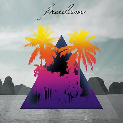 Freedom  Poster by Mark Ashkenazi