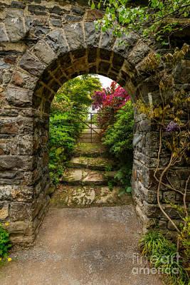 Garden Arch Poster by Adrian Evans