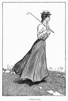 Gibson Girl, 1899 Poster by Granger