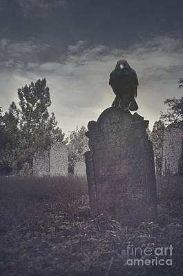 Graveyard Poster by Jelena Jovanovic
