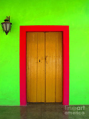 Green House El Quilete By Darian Day Poster by Mexicolors Art Photography