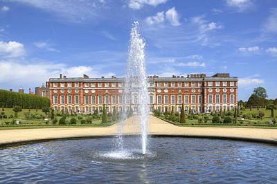 Hampton Court Palace - England Poster by Joana Kruse