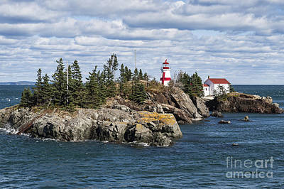 Head Harbour Lighthouse Poster by John Greim