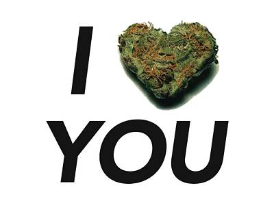 I Bud You Poster by The Personal Stash