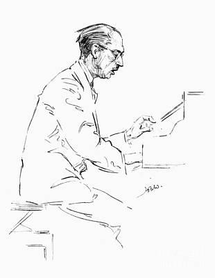 Igor Stravinsky (1882-1971) Poster by Granger