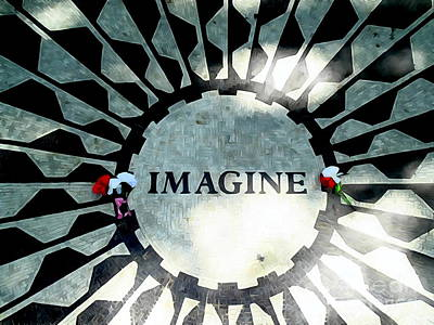 Imagine Poster by Ed Weidman