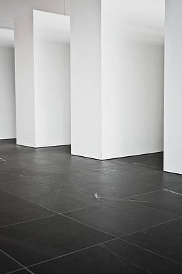 Interior Pillars Poster by Tom Gowanlock