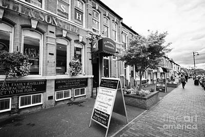 Jewellery Shops On Vyse Street Jewellery Quarter Birmingham Uk Poster by Joe Fox
