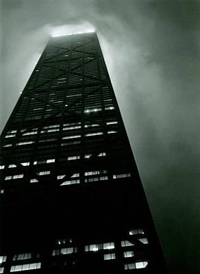John Hancock Building - Chicago Illinois Poster by Michelle Calkins