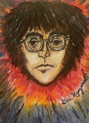 John Lennon Poster by Geraldine Myszenski