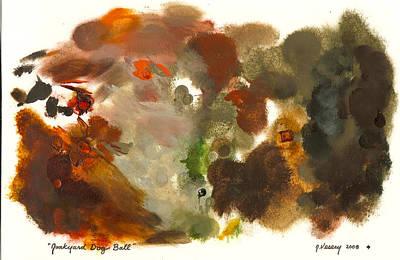 Junkyard Dog Ball Palette Poster by Jacques Vesery