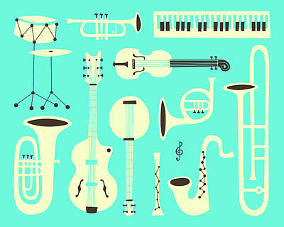 Just Jazz Poster by Jazzberry Blue
