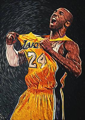 Kobe Bryant Poster by Taylan Apukovska