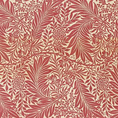 Larkspur Poster by William Morris