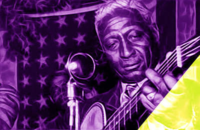 Leadbelly Collection Poster by Marvin Blaine