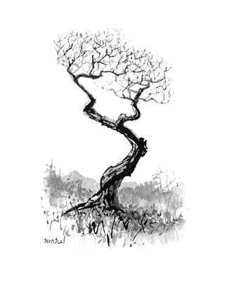 Little Zen Tree 1820 Poster by Sean Seal