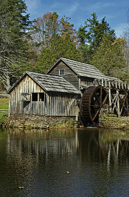 Mabry Mill Poster by Skip Willits
