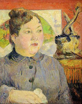 Madame Alexandre Kohler Poster by Paul Gauguin
