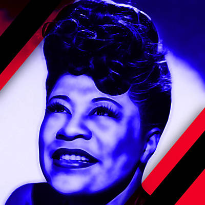 Mahalia Jackson Collection Poster by Marvin Blaine