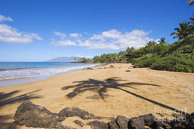 Makena, Changs Beach Poster by Ron Dahlquist - Printscapes