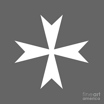 Maltese Cross Variant Poster by Frederick Holiday