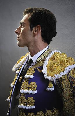 Matador Salvador Cortes II Poster by Rafa Rivas