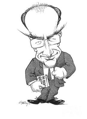 Matt Ridley, Caricature Poster by Gary Brown
