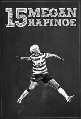 Megan Rapinoe Poster by Semih Yurdabak