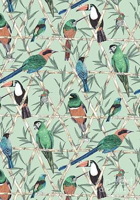 Menagerie Poster by Jacqueline Colley