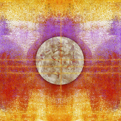 Moon Colors Poster by Carol Leigh