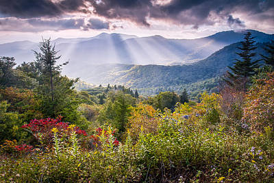 Mountain Majesty Poster by Rob Travis