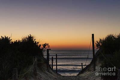 Nauset Beach Sunrise Poster by John Greim
