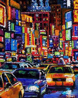 New York City Poster by Debra Hurd