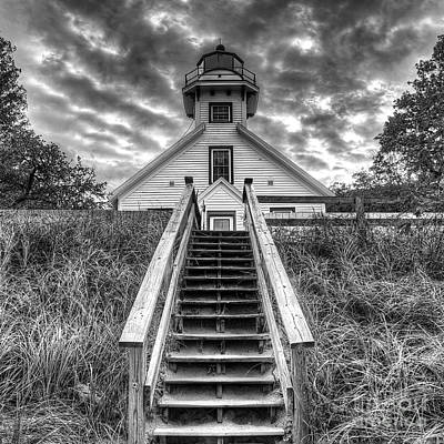 Old Mission Lighthouse Poster by Twenty Two North Photography