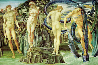 Perseus And Andromeda  Poster by Edward Burne-Jones