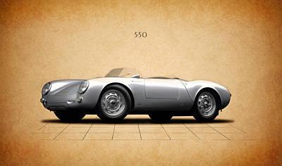 Porsche 550 Poster by Mark Rogan